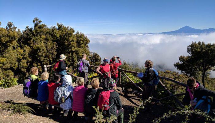 Alto de Garahonayn huipulla