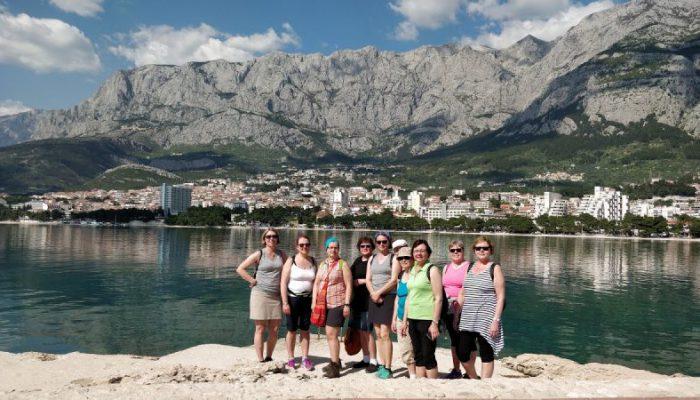 Naiset rhymä Kroatialla